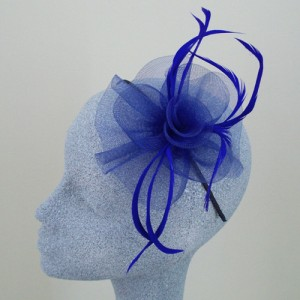 Blue Fascinator Audrey - FAS024
