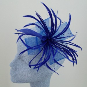 Blue Fascinator Olivia - FAS026