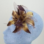 Brown Fascinator Diane - FAS052