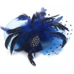 Cobalt Blue Fascinator Carole - FAS091