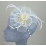 Cream Fascinator Alexandra - FAS039