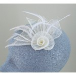 Cream Fascinator Charlotte - FAS040