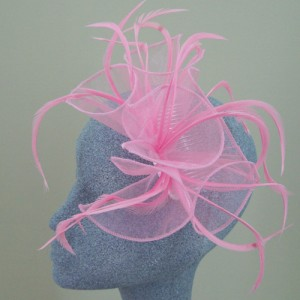 Pink Fascinator Holly - FAS001