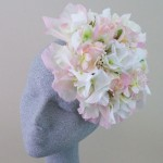 Flower Fascinator Hat Spun Sugar Pastels - FAS243