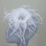 Ivory Fascinator Letitia - FAS041