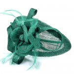 Jade Green Fascinator Molly - FAS211