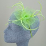 Lime Green Fascinator Kayleigh - FAS015