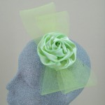 Lime Green Fascinator Ricci - FAS018