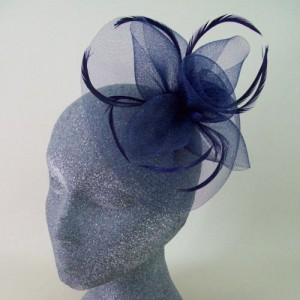 Navy Blue Fascinator Hat Evie - FAS246