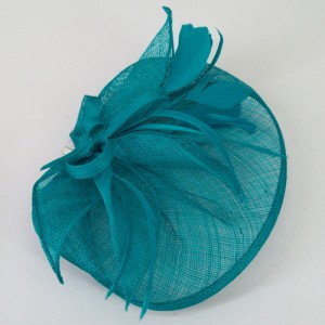 Teal Fascinator Alexis - FAS224