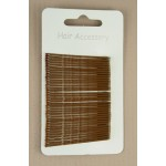 Brown Hair Grips 36 Pack - GRP002