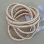 Mid Blonde Hair Elastics 6 pack - ELA002