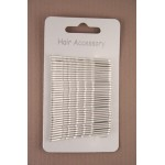 Silver Hair Grips 36 Pack - GRP004