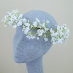 Gypsophilia Hair Flower Crown Large - HFL190