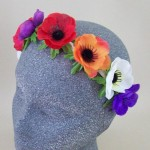 Anemone Flower Crown Headband Tutti Frutti - HFL247