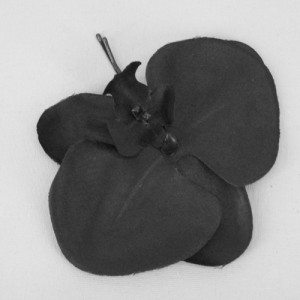 Black Orchid Hair Grip - OHF012