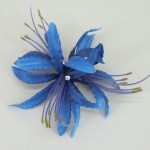 Blue Nerine Orchid Hair Clip - HFL121