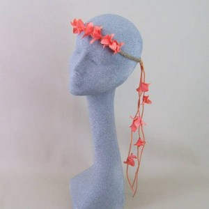 Boho Beauty Hair Garland Coral - HFL223