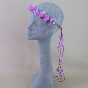 Boho Beauty Hair Garland Purple - HFL224