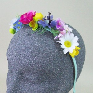 Boho Wild Flowers Alice Band - HFL253