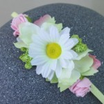 Daisy Princess Headband Pink Green - HFL269
