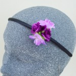 Darling Rose Buds Headband Purple and Lilac - HFL153
