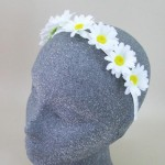 Fresh as a Daisy Flower Crown Headband - HFL251