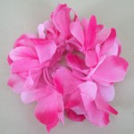 Hawaiian Lei Flower Hair Elastic Scrunchie Pink - HFL150