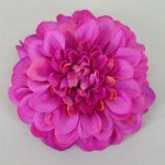 Hot Pink Zinnia Hair Clip or Brooch - HFL091