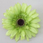 Lime Green Gerbera Daisy Hair Clip or Corsage HFL229
