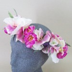 Made to Measure Memory Lane Floral Crown - ADEC02c