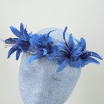Moody Blue Flower Crown - HFL176