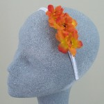 Flower Headband Orange Blossom - HFL115