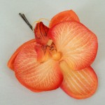 Orange Orchid Hair Grip - OHF013