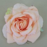 Peach Rose Hair Clip or Corsage - HRO005
