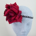 Petrova Flower Crown Red Rose - HFL178