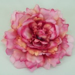 Pink and Coral Oversized Peony Hair Clip - HFL084