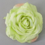 Pistachio Green Rose Hair Clip or Corsage - HRO008