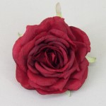 Red Rose Hair Clip or Corsage - HRO011