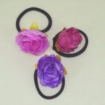 Rose Bud Hair Elastics (3 pack) - HFL131