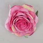 Rose Pink Rose Hair Clip or Corsage - HRO006