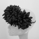 Sookie Hair Flower Crown Black - HFL177