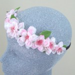 Spring Festival Hair Flower Crown - HFL182
