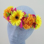 Summer Brights Festival Hair Flower Crown - HFL166