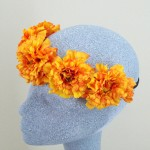Summer Marigold Flower Crown - HFL165
