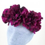 Supersized Mulberry Flower Crown - HFL174