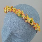 Tangerine Skies Flower Alice Band  - HFL242