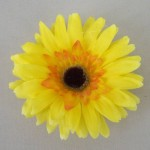 Yellow Gerbera Daisy Hair Clip or Corsage HFL228