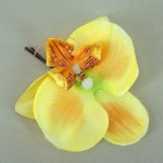 Yellow Orchid Hair Grip - OHF011