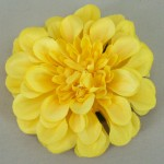 Yellow Zinnia Hair Clip or Brooch - HFL105